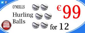 O'Neills Hurling Balls 12 Pk