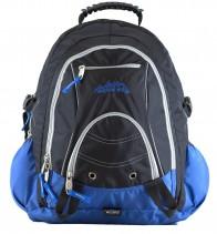 Ridge 53 Bolton Ultra Black Blue Back Pack