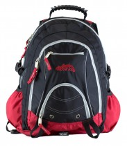 Ridge 53 Bolton Ultra Black Red Back Pack