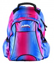 Ridge 53 Usher Blue Pink Back Pack