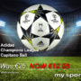 Adidas Champions League Capitano Ball