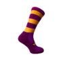 Midi Sock Purple/Gold